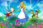 alice no país das maravilhas painel festa infantil banner (2)
