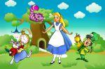 alice no país das maravilhas painel festa infantil banner (1)