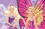 Barbie Butterfly E A Princesa Fada painel festa infantil banner (4)