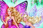 Barbie Butterfly E A Princesa Fada painel festa infantil banner (3)