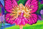 Barbie Butterfly E A Princesa Fada painel festa infantil banner (1)