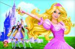 barbie e as tres mosqueteiras painel festa infantil banner  (6)