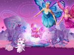 barbie e o segredo das fadas painel festa infantil banner dkorinfest (1)