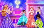 barbie escola de princesas painel festa infantil banner dkorinfest (18)