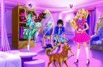 barbie escola de princesas painel festa infantil banner dkorinfest (17)