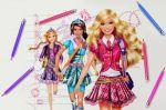 barbie escola de princesas painel festa infantil banner dkorinfest (8)