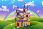 disney baby painel festa infantil banner castelo (2)