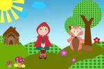 Chapeuzinho Vermelho painel festa infantil banner (10)