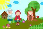 Chapeuzinho Vermelho painel festa infantil banner (6)