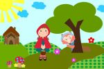 Chapeuzinho Vermelho painel festa infantil banner (3)
