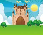 castelo painel festa infantil  banner dkorinfest (2)