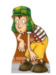 chaves display cenario de chao totem mdf dkorinfest (2)