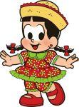 chico bento e rosinha display cenario de chao totem mdf dkorinfest  (3)