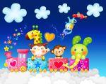 crianças painel festa infantil banner dkorinfest (2)