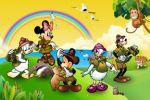 disney safari painel festa infantil banner dkorinfest (1)