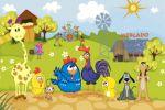 galinha pintadinha painel festa infantil banner dkorinfest (21)