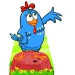 galinha pintadinha display cenario de chao totem mdf dkorinfest (52)