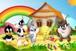 Looney Tunes Baby painel festa infantil banner dkorinfest (11)