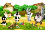 Looney Tunes Baby painel festa infantil banner dkorinfest (8)