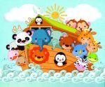 arca de noe painel festa infantil banner dkorinfest (12)