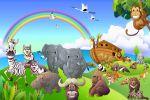 arca de noe painel festa infantil banner dkorinfest (7)