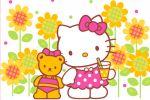 hello kitty painel festa infantil banner dkorinfest (3)