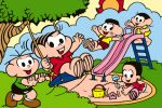 turma da monica painel festa infantil banner dkorinfest (1)