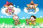 turma da monica baby painel festa infantil banner dkorinfest (4)