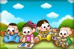 turma da monica baby painel festa infantil banner dkorinfest (1)
