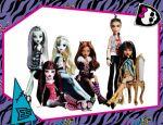 Monster High painel festa infantil banne dkorinfest (25)
