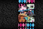 Monster High painel festa infantil banne dkorinfest (9)