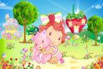 Moranguinho Baby painel festa infantil banner dkorinfest (5)