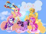 My Little Pony painel festa infantil banner dkorinfest (4)