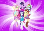 My Little Pony Esquadria Girls painel festa infantil banner dkorinfest (2)