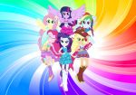 My Little Pony Esquadria Girls painel festa infantil banner dkorinfest (1)