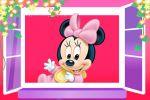 Minnie Mouse Baby painel festa infantil banner dkorin (2)