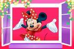 Minnie Mouse Vermelha painel festa infantil banner dkorinfest(15)