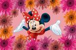 Minnie Mouse Vermelha painel festa infantil banner dkorinfest(14)