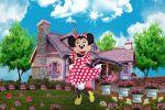 Minnie Mouse Vermelha painel festa infantil banner dkorinfest(9)