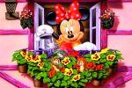 Minnie Mouse Vermelha painel festa infantil banner dkorinfest(6)
