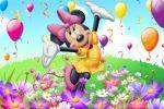 Minnie Mouse painel festa infantil banner dkorinfest (5)