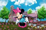 Minnie Mouse painel festa infantil banner dkorinfest (2)