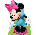 minie Mouse  display cenario de chao totem mdf dkorinfes  (3)