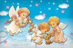 anjos painel festa infantil banner  dkorinfest (6)