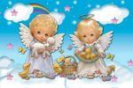 anjos painel festa infantil banner  dkorinfest (3)
