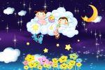 anjos painel festa infantil banner  dkorinfest (2)