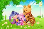 Ursinho Pooh painel festa infantil banner dkorinfest (3)