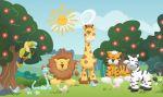 safari baby painel festa infantil banner dkorinfest (5)