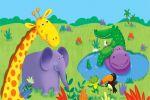 safari baby painel festa infantil banner dkorinfest (2)