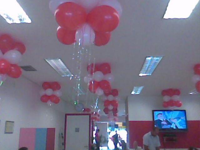 DECORA u00c7ÃO AMBIENTE COM BAL u00d5ES Doce Festas !!!! Transformando o seu Sonho na mais Doce realidade -> Decoração De Festa Com Balões No Teto